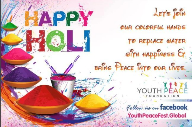 CELEBRATE HOLI WITH YPF