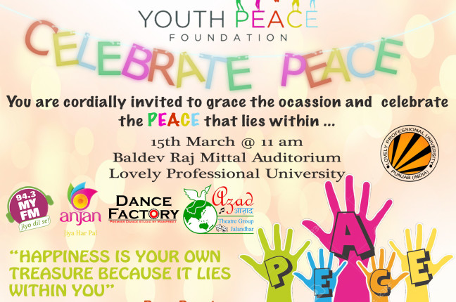 PEACE CELEBRATED AT LPU