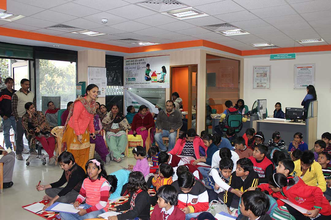 Art for Peace at IDBI Bank, Gurgaon, HR