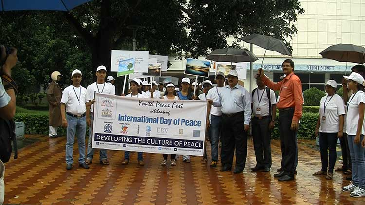 World Peace Day Celebrated in Kolkata