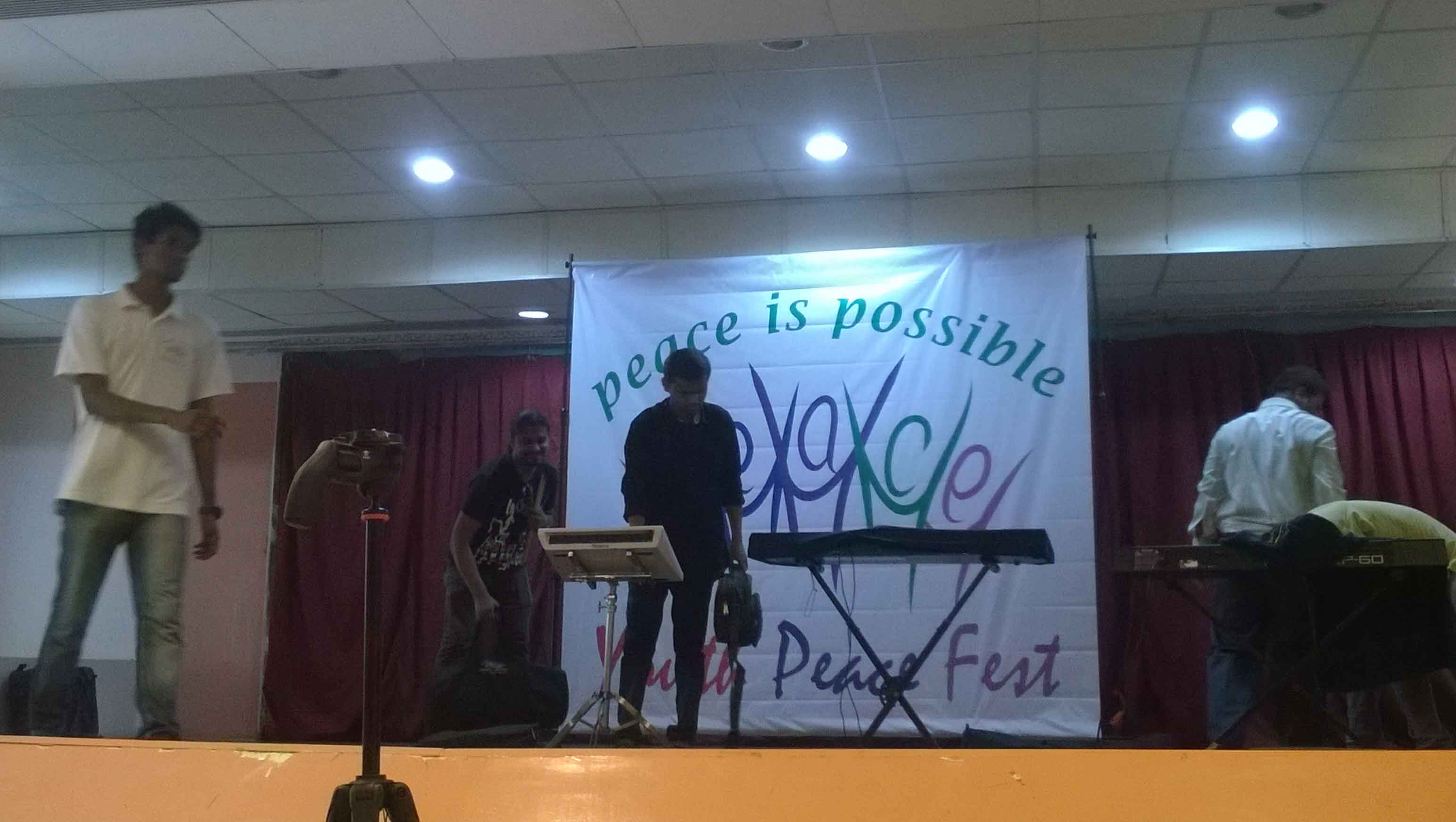 Music for Peace at National Association for the Blind (9)