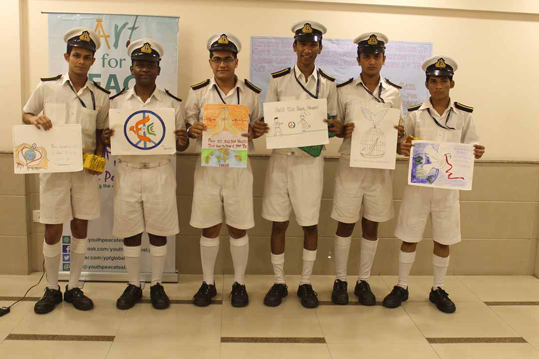 Art & Music for Peace at BP Marine Academy, Belapur, Navi Mumbai