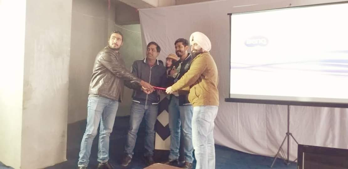 YPF has organised an event in IIE  jalandhar