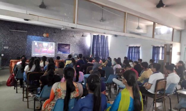 YPF organised an event based on the concept of Humanity and Peace