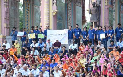 Celebration of International Peace Day at Jaipur