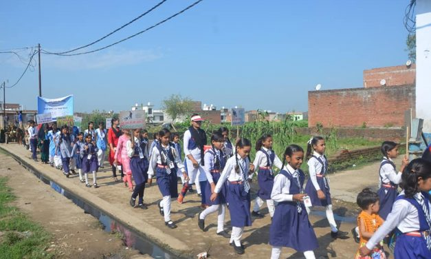 YPF Team Organized a Walk on Health and Hygiene on 21st September at Bareilly