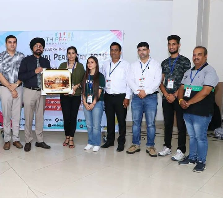 YPF Celebrated International Peace Day at CT Institutions, Jalandhar, Punjab