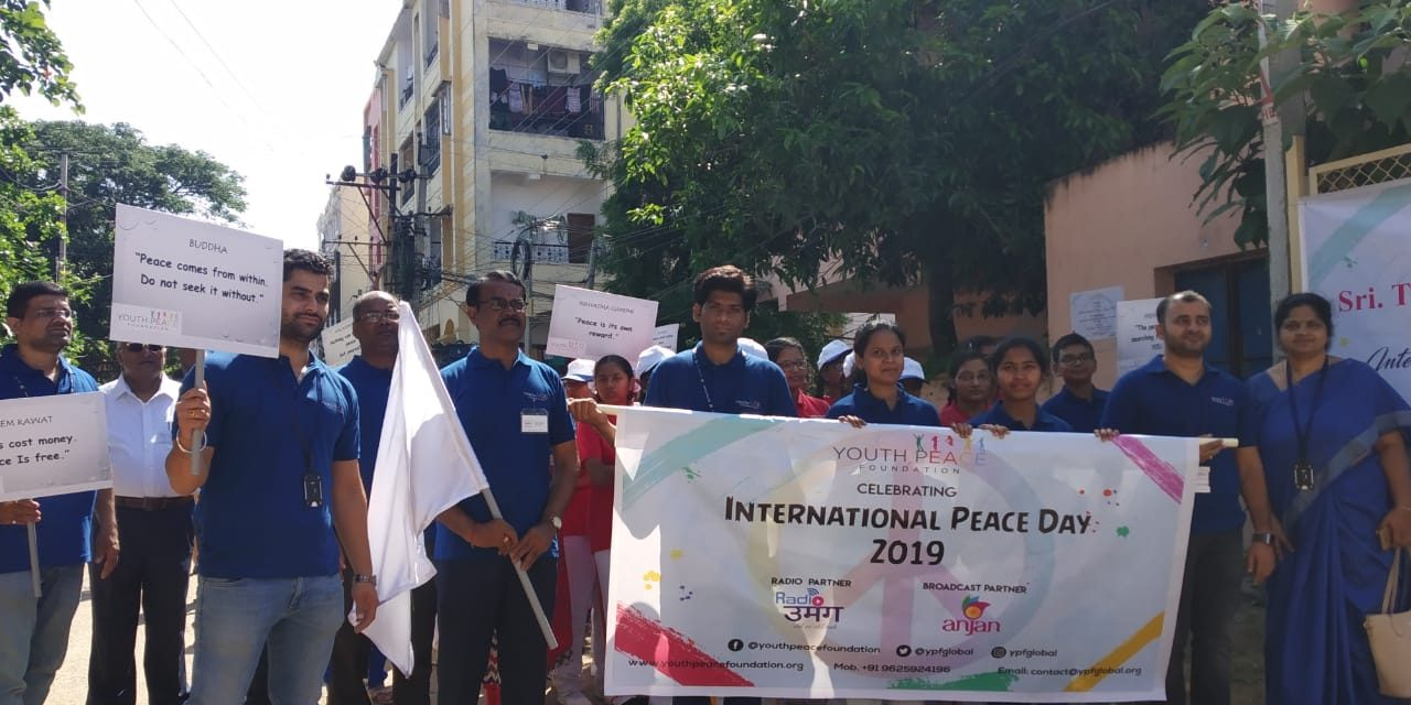 YPF Celebrated Peace week Passionately Across the Globe
