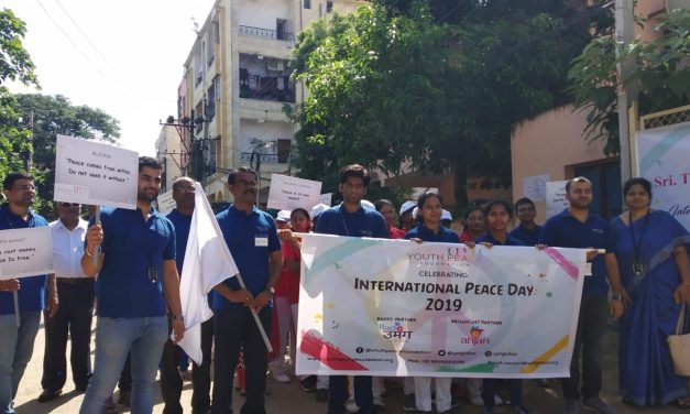YPF Celebrated Peace week Passionately Across the Globe