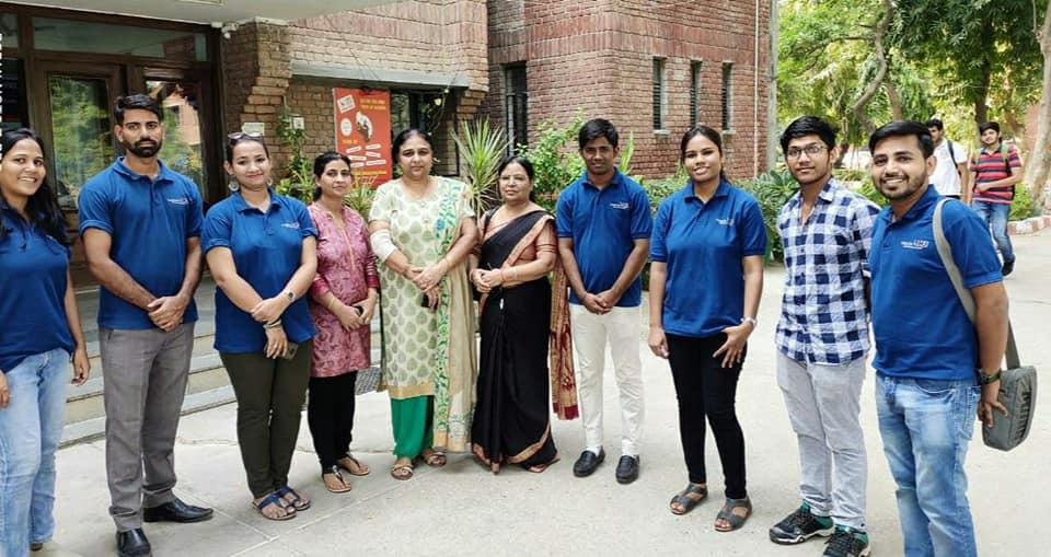 YPF has organised an event in Maharaja Surajmal Institute,Delhi