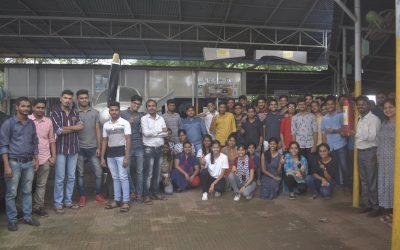 YPF Celebrated World Peace Day atAerospace and Engineering College, Mumbai
