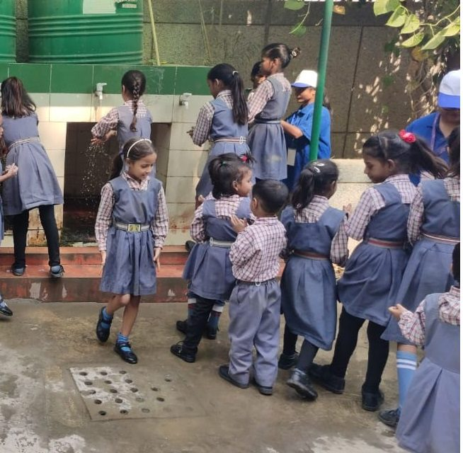 Cleanliness Campaign in Bindapur, New Delhi