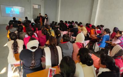 YPF Organised an Event in Youth Girls Degree College, Barabanki