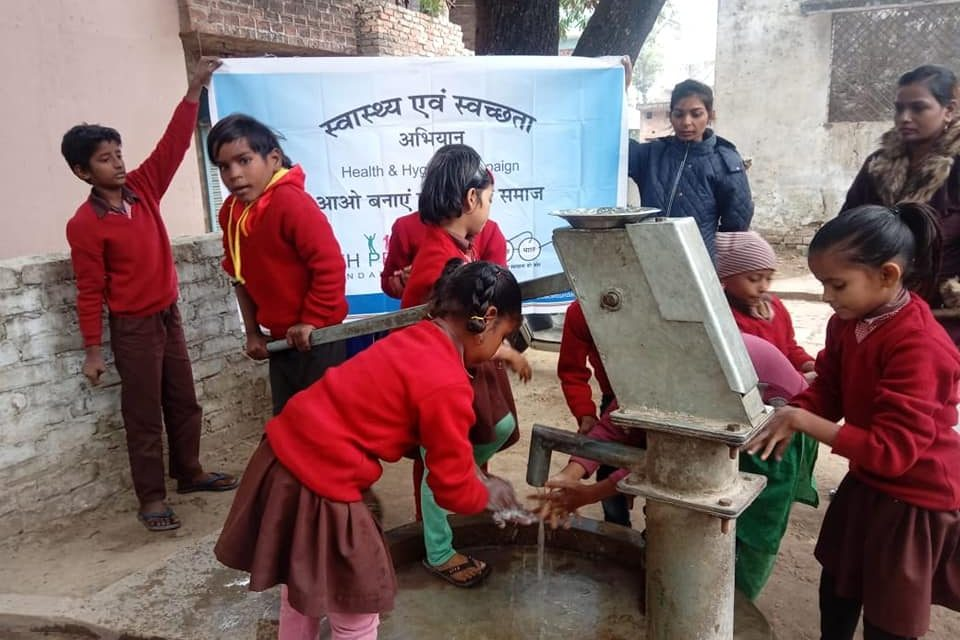 Health and Hygiene Activity in Chetra, Lucknow
