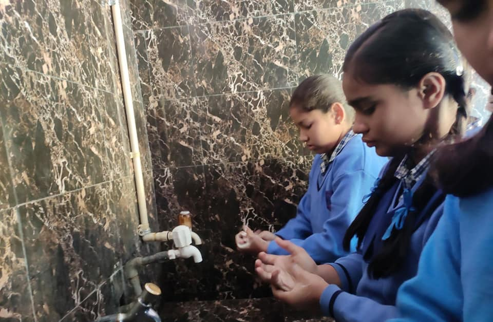 Health and Hygiene Activity in New Delhi