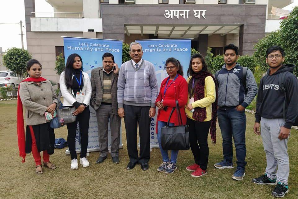 YPF Team Organised a Fabulous event in Apna Ghar Vridh Ashram for Old Age People