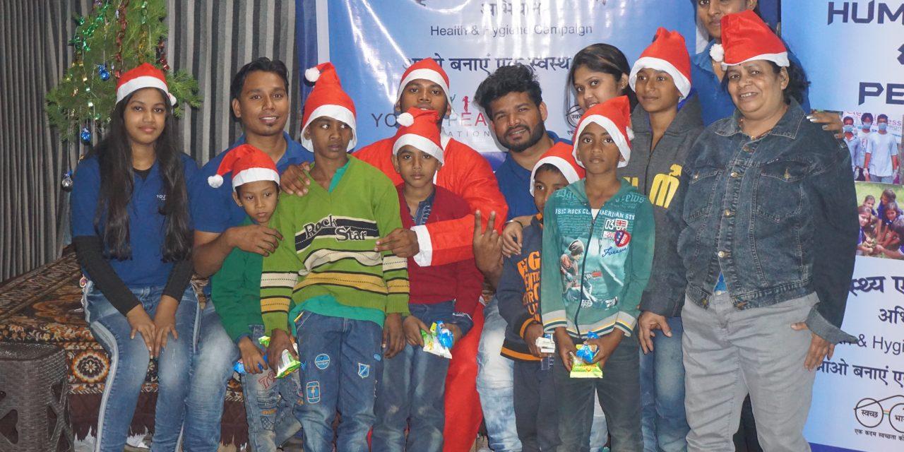 Healthy Christmas Celebration at Ghoramara Sishu Ananda Ashram, Kolkata