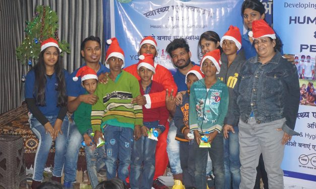 Healthy Christmas Celebration at Ghoramara Sishu Ananda Ashram, Kolkata
