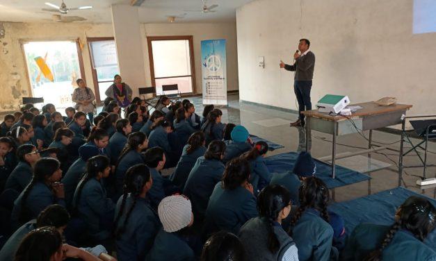 Health and Hygiene Activity in Mahamaya Balika Inter College, Noida