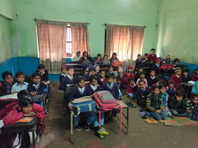 Health and Hygiene Activity in Rameshwaram Vidyalaya, Lucknow