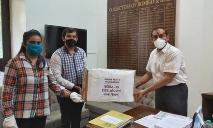 Mask Distribution Campaign in Mumbai