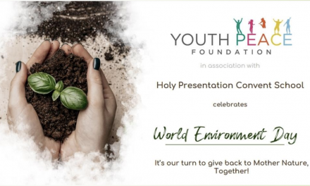 World Environment Day- Virtual event at Holy Presentation Convent school, Rajbagh